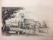 Ystradowen church, near Cowbridge - 1864