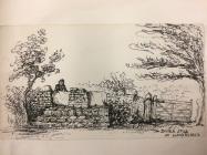 Coffin stiles, Llanfrynach, near Cowbridge