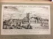 Ewenny priory, near Cowbridge 1741