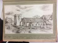 Llancarfan church, near Cowbridge 1865