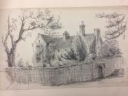 Great House, Aberthin, nr Cowbridge, sketch