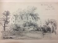 Great House, Aberthin, nr Cowbridge 1881