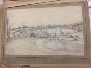 Llantrithyd Place, near Cowbridge, 1865 sketch