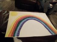 Rainbows in Windows by Rebecca