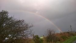 Rainbows from Windows by Jessica in Rhiw, Gwynedd