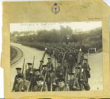 The Welsh Guard Embarking to Egypt (Cairo)...