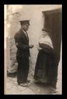 Gerald Jones cyflwyno telegram at ei fam-gu ar...