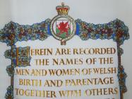 WW2 Book of Remembrance Memorial Page