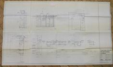 Architect's plan for the interior of...