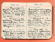 Visit to Llangefni, 1910 diary by Lucy White