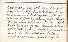 Diary of an 1894 visit to London by Lillie...