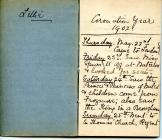 Diary of a 1902 visit to London by Lillie White...