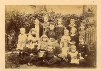 Carmarthen school photograph, 1891