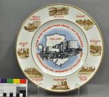 Wylfa Commemorative Plate, 1988