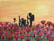 Remembrance Day Painting, 2020