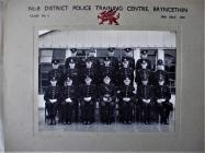 Police Training Centre, Bryncethin 1947