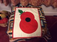 Poppy for Remembrance Day by Mary Davies, 2020