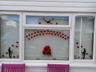 Poppies in Windows by Siân Gregory, 2020