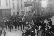 'B Company' 7th Batt. Royal Welsh Fusiliers...