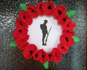Poppy Wreath for Remembrance Day, 2020