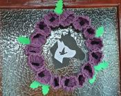 Purple Poppy Wreath for Remembrance Day, 2020
