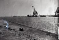 Construction of No. 2 Dock, Barry