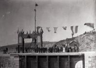 Opening of Barry Docks