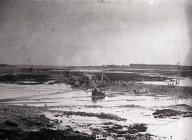 Construction of the Eastern Cofferdam, Barry Docks