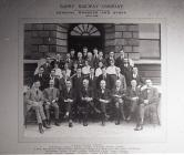 Barry Rail Company General Manager and Staff