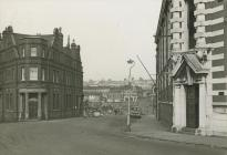 Demolition of Thompson Street, Barry