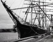 SS Pamir Berthed at Ranks Mill, Barry Docks
