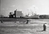 Banana Boat at Barry Dock