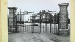 Steelwork gates and W R Lysaght Institute