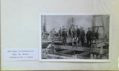 Construction begins at Lysaght Steelworks 1897