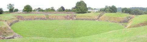 The Roman Amphitheatre & Barracks Caerleon,...