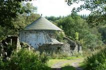 Old Roundhouse, Gwaun-clawdd Farm near Abercrâf...