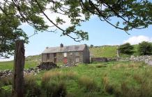 Penwyllt - landscape and limekilns