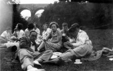 Picnic at Porthkerry Park, Glamorgan Summer...