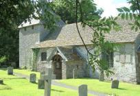 St Bilo's Church, Llanfilo, Breconshire ...
