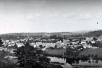 General View of Usk, date unknown