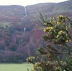 Waterfall near Cwmtawe Swansea Valley, Glamorgan