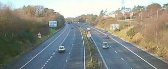 M4 Motorway near Swansea, Glamorgan