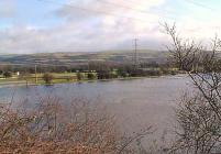 Floods in the Swansea Valley Glamorgan
