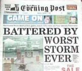 The Great Storm of 1998 Gower, Glamorgan