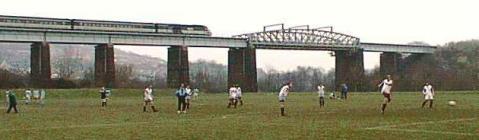 Landore Viaduct Swansea, Glamorgan