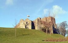 Oystermouth Castle The Mumbles, Swansea, Glamorgan
