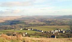 Upland Scenes Carmarthenshire, Breconshire, ...