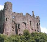 Laugharne Castle Carmarthenshire