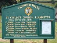 St Cynllo's Parish Church Llanbister, Radnorshire
