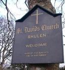 St David's Church, Rhulen Radnorshire